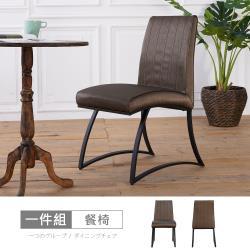 【時尚屋】[UX20]諾瑪餐椅(單只)UX20-YL2122-2免運費/免組裝/餐椅