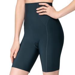 思薇爾 輕塑型系列64-82高腰長筒束褲(耀映綠)
