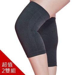 阿瘦集團-A.S.O 銀纖維能量護膝(2雙)-裸