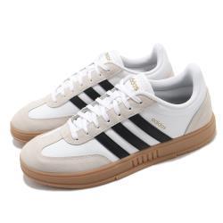adidas 休閒鞋 Gradas 低筒 運動 男鞋 愛迪達 舒適 簡約 穿搭 膠底 質感 白 黑 FW3378 [ACS 跨運動]