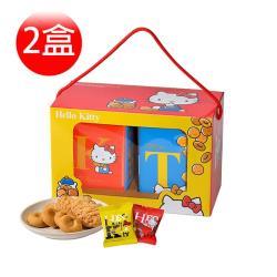 [Hello Kitty]雙饗禮盒×2盒(奶蛋素)(提盒)
