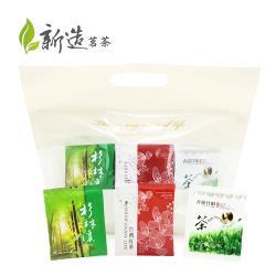 【新造茗茶】辦公室量販組合包-烏龍茶、紅茶、茉香綠茶(60入/袋)