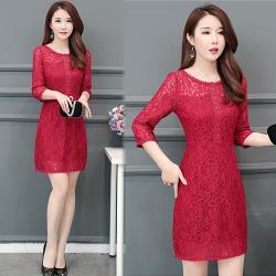 韓國K.W. 時尚元素桂馥蘭香名媛洋裝