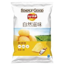 SIMPLY GOOD 樂事海鹽味洋芋片81G/包