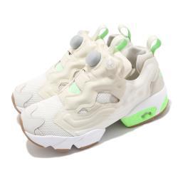 Reebok 休閒鞋 Instapump Fury OG 女鞋 經典款 充氣科技 襪套 舒適 穿搭 白 綠 FZ0665 [ACS 跨運動]