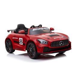 【聰明媽咪兒童超跑】賓士 GT4 原廠授權 雙驅兒童電動車(旗艦升級版 SX1918)烤漆紅