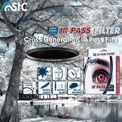 台灣製造STC多層膜IR Pass紅外線濾鏡紅外光濾鏡IR濾鏡850T(口徑:82mm)即濾掉850nm以下光線IR850