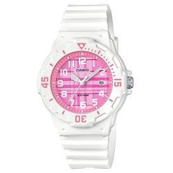 【CASIO 卡西歐】潛水風格-學生/青少年指針錶_鏡面3.4公分LRW-200H-4C