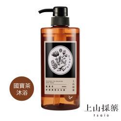 tsaio上山採藥 國寶茶舒緩調理沐浴露 600ml