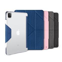 JTL / JTLEGEND iPad Pro 2020 Amos 11吋 相機快取多角度折疊布紋皮套(有Apple pencil磁扣_無筆槽)