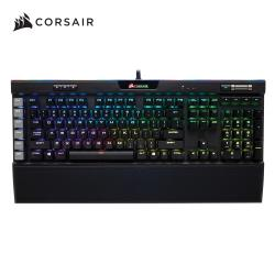 Corsair海盜船 K95 RGB PLATINUM 機械式電競鍵盤/銀軸/中文鍵帽/RGB/二年保 CH-9127014-TW