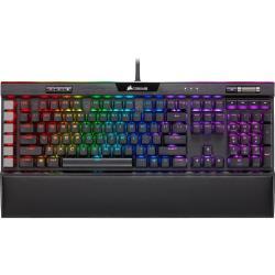 Corsair海盜船 K95 PLTN XT-BLK-MX Blue-RGB 機械式鍵盤/青軸/英文PBT鍵帽/二年保 CH-9127411-NA