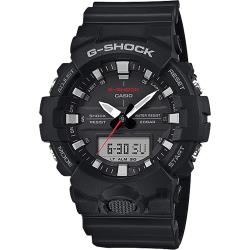 CASIO 卡西歐 G-SHOCK 運動員記錄手錶-黑(GA-800-1A)