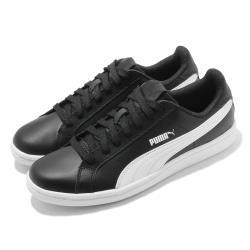Puma 休閒鞋 Smash L 復古 女鞋 基本款 皮革鞋面 穿搭推薦 板鞋 黑 白 35672214 [ACS 跨運動]