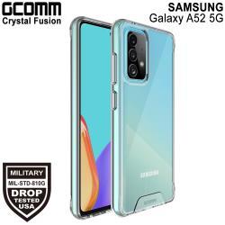 GCOMM Galaxy A52 5G 晶透軍規防摔殼 Crystal Fusion