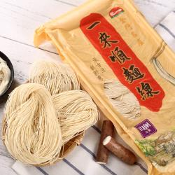 即期品2入組-【一來順】手工麵線-山藥(一包10束可素食)