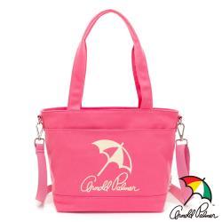 Arnold Palmer - 2WAY手提包 經典LOGO系列 - 粉紅色