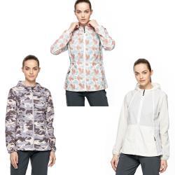 【HAKERS 哈克士】女 抗UV快乾防潑外套(三色)