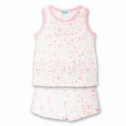 Hello Kitty凱蒂貓兒童睡衣短袖睡褲套裝居家服適合身高130-150cm KT9513【卡通小物】