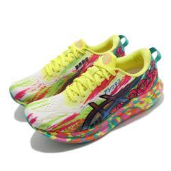Asics 慢跑鞋 Noosa Tri 13 Color Injection 女鞋 亞瑟士 歡彩系列 厚底 彩 1012B010700