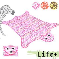 [Life +] 動物叢林  造型野餐墊/遊戲墊_加大款 (三色任選)