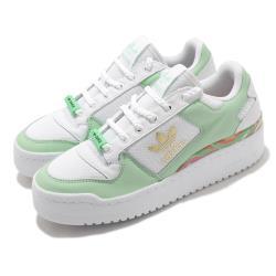 adidas 休閒鞋 Forum Bold 運動 女鞋 愛迪達 舒適 簡約 厚底 球鞋 穿搭 白 綠 FY5117 [ACS 跨運動]