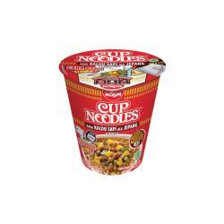 【印尼】NISSIN CUP NOODLES 日式辣牛肉風味杯麵X12