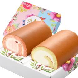 亞尼克 雙捲禮盒-紅心芭樂綠檸檬+原味