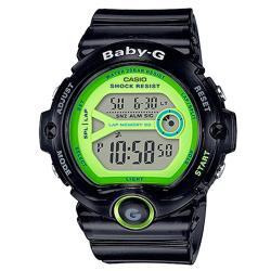 【CASIO卡西歐】BABY-G 繽紛嫩彩系 運動數字電子女錶 運動首選 耐衝擊構造 防水200米 LED燈(BG-6903-1BDR)