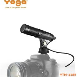 【Yo-tronics】Yoga YTM-118e 多媒體直播、手機相機攝影專用麥克風