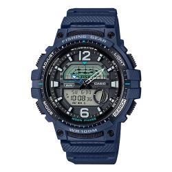 【CASIO 卡西歐】日系-釣魚模式 月相資訊 橡膠錶帶雙顯錶(WSC-1250H-2A)