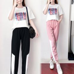 【韓國K.W.】(預購) 爆推款潮流帥氣套裝褲