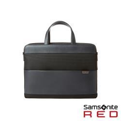 Samsonite RED HOLTE 拼接極簡率性抗菌筆電公事包15.6