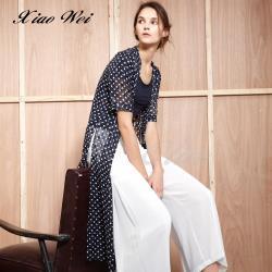 CHENG DA 春夏專櫃精品時尚長版罩衫 NO.510339
