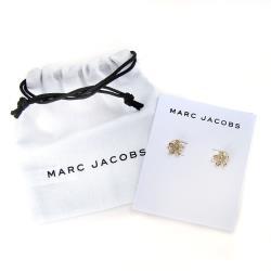 MARC JACOBS 金色小花水鑽針式耳環