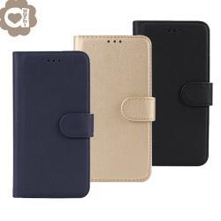 Samsung Galaxy Note20 Ultra 柔軟羊紋二合一可分離式兩用皮套 細緻皮質觸感 TPU 內殼完整包覆手機殼/保護套-藍金黑