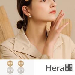 Hera 赫拉 韓版珍珠精緻耳釘#H100331F