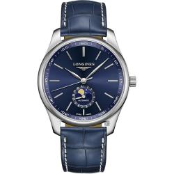 LONGINES 浪琴 Master 巨擘系列月相機械錶-42mm L29194920