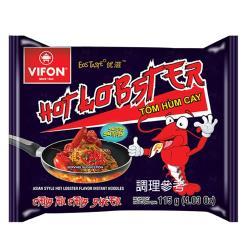 【VIFON味豐】越南味豐 蟹湯米細麵/辣龍蝦乾拌麵 組 x10包/箱