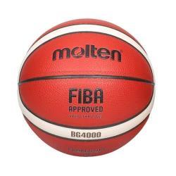 MOLTEN #6合成皮12片貼籃球-戶外 室外 訓練 6號球