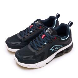 【LOTTO】男 專業避震氣墊慢跑鞋 LT20系列(藍黑米 2396)