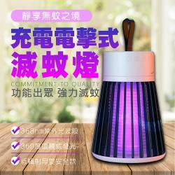 充電電擊式滅蚊燈 USB充電