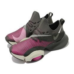 Nike 訓練鞋 Zoom SuperRep 運動 男鞋 健身房 氣墊 舒適 避震 襪套 球鞋 棕 粉 CD3460663 [ACS 跨運動]