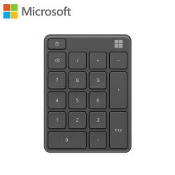 【Microsoft 微軟】藍牙數字鍵盤-霧光黑