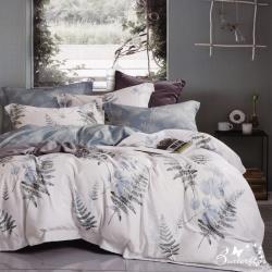 BUTTERFLY-吸濕排汗天絲四件式薄床包涼被組-夏戀(加大)