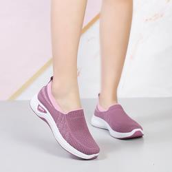 【WS】現+預 飛織軟底鬆糕懶人鞋(運動鞋/休閒鞋)