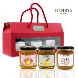 【HENRYS】西班牙進口優質蜂蜜-綜合禮盒(250g x 3)