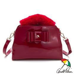 PLAYBOY- 手提包附長背帶 MANDY系列-紅色