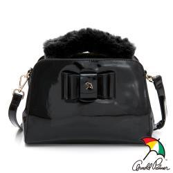 PLAYBOY- 手提包附長背帶 MANDY系列-黑色