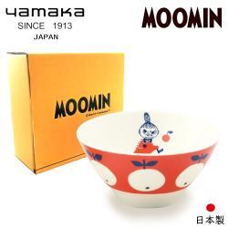 【日本山加yamaka】moomin嚕嚕米彩繪陶瓷碗禮盒1入 (MM032-312)